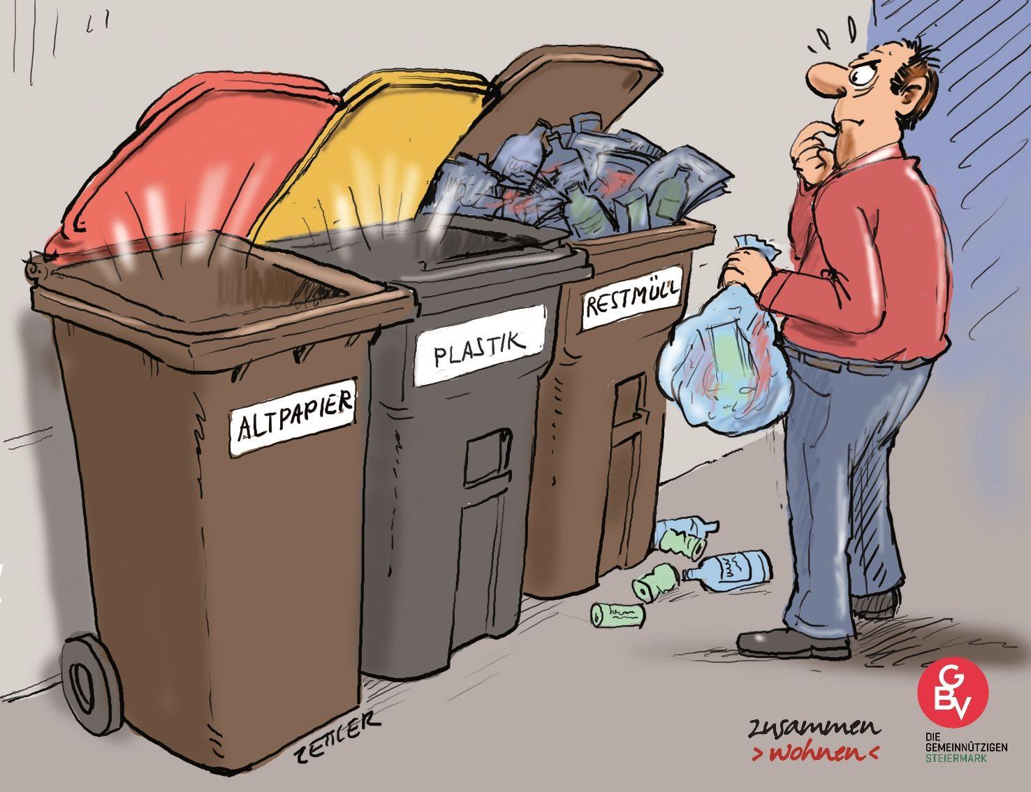 Ehrenamtlicher Abfallcoach